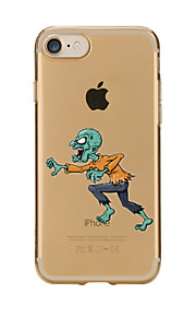 Für Transparent / Muster Hülle Rückseitenabdeckung Hülle Zeichentrick Weich TPU für AppleiPhone 7 plus / iPhone 7 / iPhone 6s Plus/6 Plus