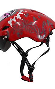 Dámské Pánské Unisex Jezdit na kole Helma 6 Větrací otvory CyklistikaCyklistika Horská cyklistika Silniční cyklistika Rekreační