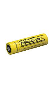 nitecore nl1835 3500mah의 3.6V의 12.6wh 18650 리튬 이온 충전지
