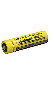 nitecore nl1834의 3400mah 3.7의 12.6wh 18650 리튬 이온 충전지