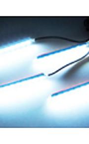 Bil Dekorative Atmosfære Lampe Kostnad Ført Innvendig Gulv Dekorasjon Lys Med Mini Dimmer LED Ensfargede 4stk
