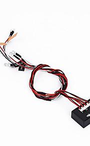 Generell Generell RC deler Tilbehør Rc biler / Buggy / Trucks Rød Hvit Oransje Metall Plast 1 Deler