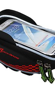 Bolsa para BicicletaBolsa para ManillarImpermeable Cremallera a prueba de agua Transpirable Móvil/Iphone A Prueba de Golpes Listo para