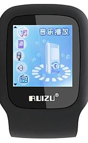 RUIZU MP3 MP3 / WMA / WAV / FLAC / APE Rechargeable Li-ion Battery