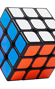 Legetøj Glat Speed Cube 3*3*3 Originale Magiske terninger Sort Fade ABS