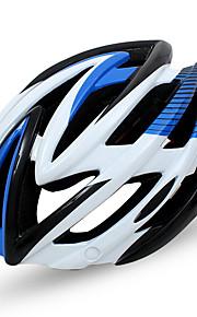 남여 공용 자전거 헬멧 N/A 통풍구 싸이클링 사이클링 이 외 중간: 55-59cm; 라지: 59-63cm; X라지: 63-67cm 탄소 섬유 +EPS 옐로우 그린 레드 핑크 블루
