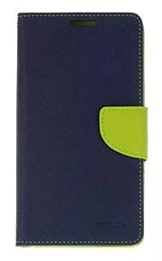 용 지갑 카드 홀더 스탠드 플립 케이스 풀 바디 케이스 단색 하드 인조 가죽 용 HTC HTC (10) HTC 하나 X9 HTC One M9 HTC A9