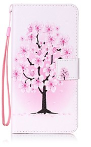 For Wallet / Card Holder / with Stand Case Full Body Case Tree Hard PU Leather for Lenovo Lenovo Vibe K5 / Lenovo A6000 / Lenovo K3 Note
