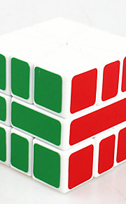 Legetøj Glat Speed Cube Alien Originale Minsker stress / Magiske terninger Ivory Plastik