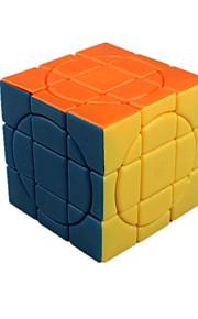 Legetøj Glat Speed Cube 3*3*3 Originale Minsker stress / Magiske terninger Regnbue ABS / Plastik