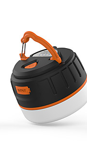 Lanternas e Luzes de Tenda Carregadores LED Lumens 5 Modo LED 18650.0 Recarregável Tamanho Compacto Fácil de Transportar Sem FioCampismo