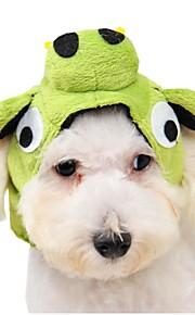 katten / honden Bandana's & Hoeden Groen Hondenkleding Winter / Lente/Herfst Cartoon Schattig