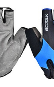 BODUN /SIDEBIKE® スポーツグローブ フリーサイズ サイクルグローブ 春 夏 秋 冬 サイクルグローブ 高通気性 耐摩耗性 耐久性 保護 フィンガーレス コットン サイクルグローブ ピンク ブルー 銀色 サイクリング