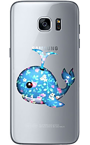 For Samsung Galaxy S6 Edge Plus S6 S7 Edge S7 Whale Soft Material For Compatibility TPU