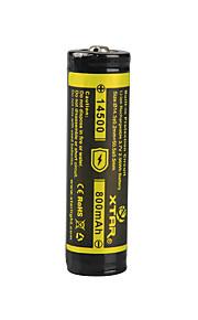 xtar 14500 800mAh 3.7V 2.96wh li-ion oppladbart batteri