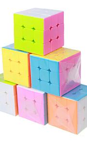 Legetøj Let Glidende Speedcube 3*3*3 Professionelt niveau Magiske terninger glat Sticker Anti-pop Justerbar fjeder ABS