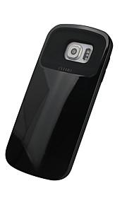 För Stötsäker fodral Skal fodral Enfärgat Hårt TPU för Samsung S6 edge S6