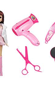 Juegos de Rol Accesorio para Casa de Muñecas Hobbies de Tiempo Libre Juguetes Novedades Juguetes Plástico Rosa Para Chicas