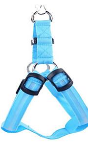 honden harnassen Elektronisch/Electrisch Effen Blauw Nylon