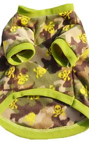 כלבים וסט צבע הסוואה בגדים לכלבים חורף קיץ/אביב בריטי יום יומי\קז'ואל