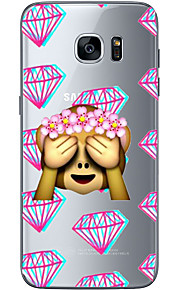 For Samsung Galaxy S6 Edge Plus S6 S7 Edge S7 Block the eyes Soft Material For Compatibility TPU