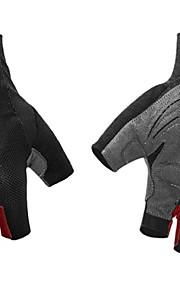 BODUN /SIDEBIKE® スポーツグローブ フリーサイズ サイクルグローブ 春 夏 秋 冬 サイクルグローブ 耐摩耗性 耐久性 反射材 保護 フィンガーレス ナイロン サイクルグローブ レッド ブルー オレンジ サイクリング