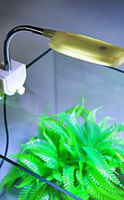 Akvaryumlar LED Aydınlatma Beyaz Enerji Tasarruflu LED lamba 220V