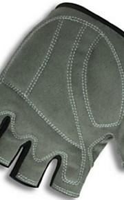 BODUN /SIDEBIKE® スポーツグローブ フリーサイズ サイクルグローブ 春 夏 秋 冬 サイクルグローブ 高通気性 耐摩耗性 耐久性 保護 フィンガーレス ライクラ サイクルグローブ ブラック サイクリング モーターバイク ダウンヒル クロスカントリー