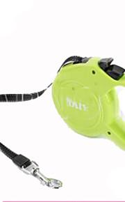 Hunde Håndfri snor Justérbar/Udtrækkelig Solid Grøn Plastik