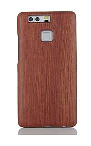 Per Resistente agli urti Custodia Custodia posteriore Custodia Tinta unita Resistente Legno per Huawei Huawei P9 Huawei P9 Lite