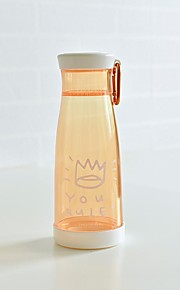 transparante nieuwigheid to-go outdoor drinkware, 450 ml draagbare lekvrije plastic sap water nieuwigheid drinkware tumbler