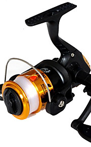 Fishing Reel Spinning Reels 2.6:1 1 Ball Bearings Exchangable General Fishing-200A