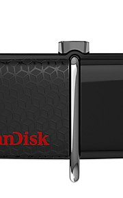 sandisk ultra 64GB USB 3.0 otg flash-enhet med micro USB-kontakt for android mobilenheter sddd2-064g-z46