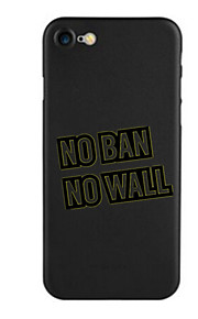 För Mönster fodral Skal fodral Ord / fras Mjukt TPU för AppleiPhone 7 Plus iPhone 7 iPhone 6s Plus/6 Plus iPhone 6s/6 iPhone SE/5s/5