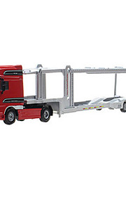 Camion Jouets Jouets de voiture 1h50 Métal ABS Rouge Maquette & Jeu de Construction