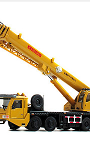 Véhicule de Construction Jouets Jouets de voiture 1:60 Métal ABS Plastique Jaune Maquette & Jeu de Construction