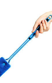 Aquarium Cleaners Plastic Handle Sponge Cleaning Brush for Fish Tank