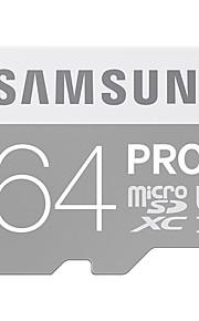 Samsung 64GB Micro-SD-Karte TF-Karte Speicherkarte UHS-I U3 Class10 Pro