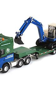 Véhicule de Construction Jouets Jouets de voiture 1h50 Métal ABS Plastique Vert Maquette & Jeu de Construction