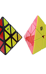 Toys Smooth Speed Cube Pyraminx Speed Professional Level Magic Cube Smooth Sticker Anti-pop Adjustable spring ABS