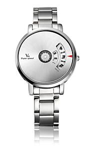 V6® Men's Fashion Watch Quartz / Alloy Band Casual Silver Brand