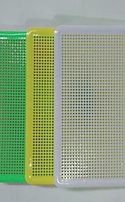 puslespil GDS-sæt Puslespil Byggesten Gør Det Selv Legetøj Cirkelformet Plastik Regnbue Originalt legetøj