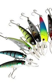 Lot 8 Pcs Deep Diving Minnow Fishing Lures Crankbaits Kit for Bass and Trout Fishing Tackle 9cm/3.54/8.3g