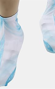 シューズカバー バイク 高通気性 速乾性 防塵 抗虫 静電気防止 バクテリア対応 保護 女性用 男性用 男女兼用 ホワイト テリレン