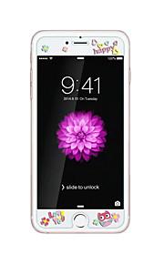 暗いフクロウでエンボス漫画のパターン輝きを持つアップルのiPhoneのための6 / 6S 4.7inch強化ガラス透明なフロントスクリーンプロテクター