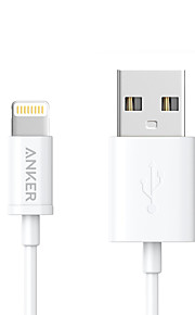 USB 2.0 携帯式 ケーブル 用途 Apple iPhone iPad 90 cm PVC