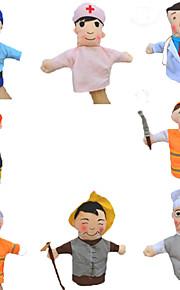 Professional DollsBig Hands Dolls Finger  Love Dolls Finger Puppet Model & Building Toy Toys Novelty Textile Cotton
