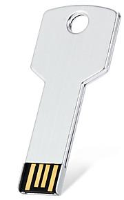 8G USB 2.0 flash drive reell kapasitet metall fargerik nøkkel form for pc / laptop / hp / dell / Toshiba etc.