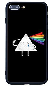 För Mönster fodral Skal fodral Tecknat Hårt Akrylfiber för Apple iPhone 7 Plus iPhone 7 iPhone 6s Plus/6 Plus iPhone 6s/6 iPhone SE/5s/5