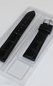 homens / bandas women'swatch couro genuíno relógio 18 milímetros acessórios